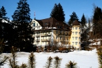 Fancy palace hotel in Gstaad.