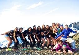 APU/USST Women's Camp + Norwegian National Team skier Celine Brun-Lie. Great fun group!