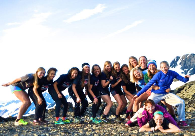 APU/USST Women's Camp + Norwegian National Team skier Celine Brun-Lie. Great fun group!