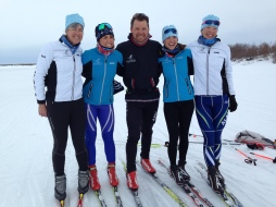 We had an awesome group of coaches this year in Selawik: Alice Knapp, Greta Anderson, Zach Hall, myself and Dana Tower.