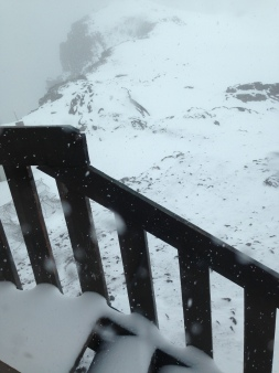 Snowy snowy June.