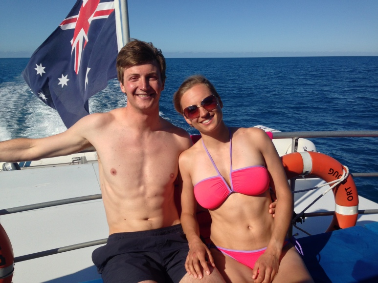 We spent a day snorkelling on the Great Barrier Reef. Pretty amazing.