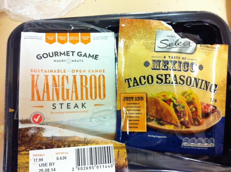 Kangaritos: fusion cuisine.