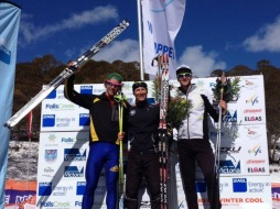 PK came 3rd in the Kangaroo Hoppet! I finished 4th, off the podium, behind 3 Olympians.