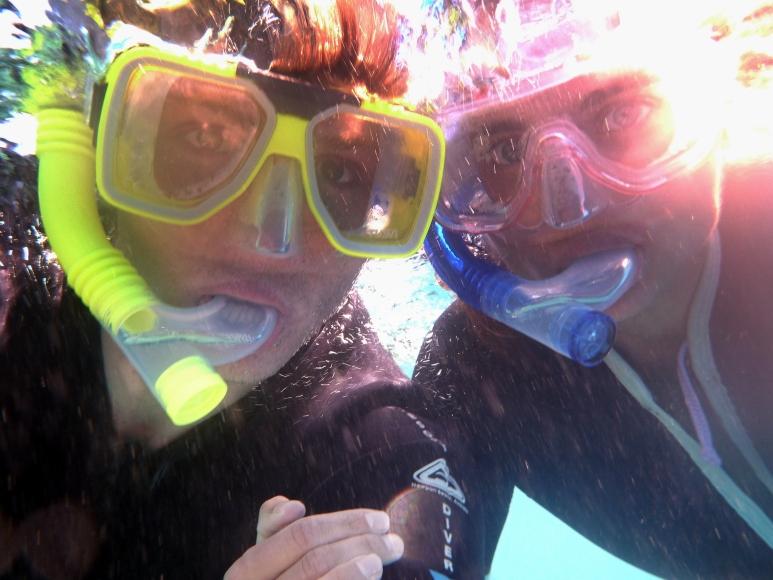 Snorkel selfie.